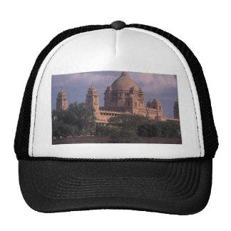 Hotel maid, Bhawan, Jodhpur, India Mesh Hats