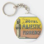 Hotel Majestic Florence Keychains