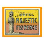 Hotel Majestic Florence Postcards