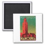 Hotel Mamounia Marrakech Square Magnet