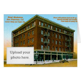 Hotel Manhattan Greeting Card
