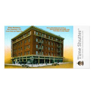 Hotel Manhattan Picture Card