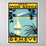 Hotel Mon Repos (Geneva - Switzerland) Poster