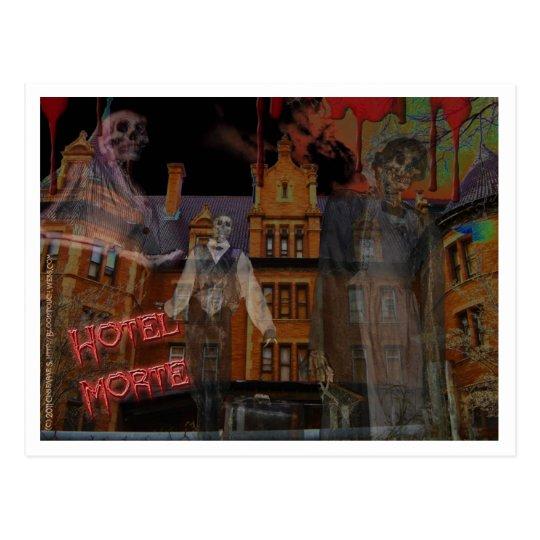 Hotel Morte postcard