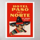 Hotel Paso del Norte (El Paso - Texas) Poster