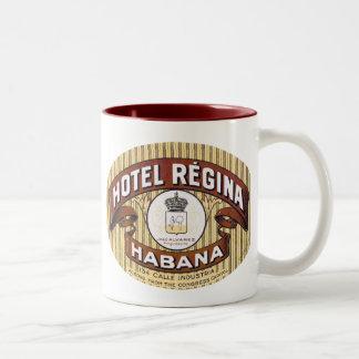 Hotel Regina Habana Cuba Mugs