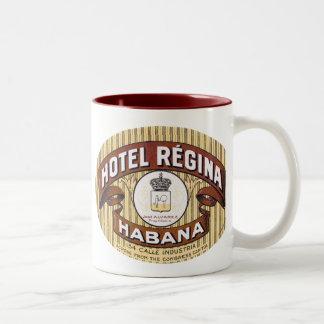 Hotel Regina Habana Cuba Coffee Mugs