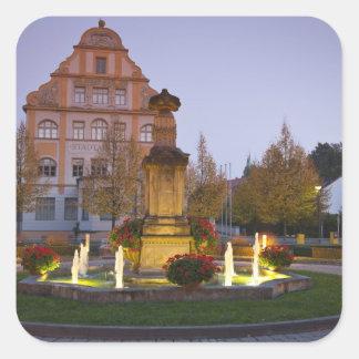 Hotel Residenzschloss Bamberg, Germany Square Sticker