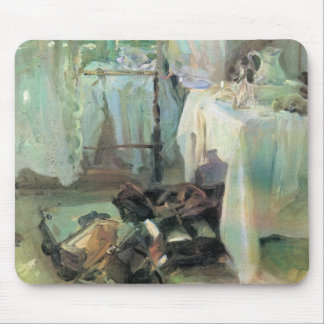 Hotel Room by Sargent, Vintage Victorian Fine Art Mouse Pad