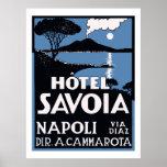 Hôtel Savoia (Napoli) Affiches