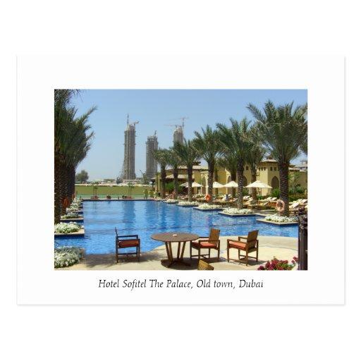 Hotel Sofitel The Palace, Old town, Dubai Postcards