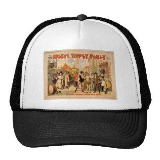 Hotel Topsy Turvy Trucker Hat