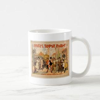 Hotel Topsy Turvy Mug