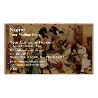 Hotel Topsy Turvy Pack Of Standard Business Cards