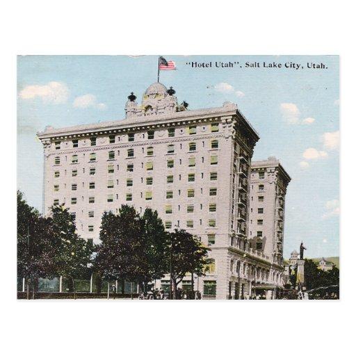Hotel Utah Postcard