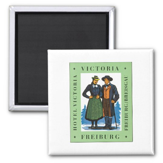 Hotel Victoria Freiburg Square Magnet