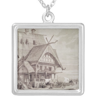 Hotels and Guest Houses Silver Plated Necklace