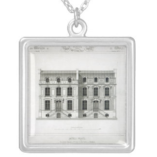 Hotels Prives, 10 & 12 Rue Balzac, Paris Silver Plated Necklace