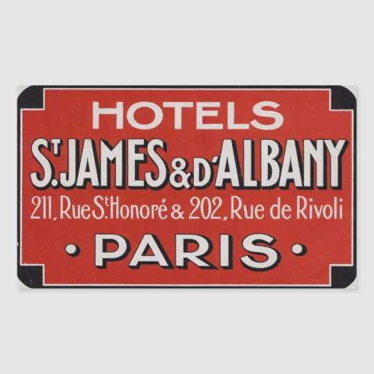 Hotels St james & d'Albaby (Paris France) Rectangular