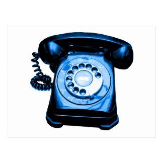 Hotline in Blue Postcard