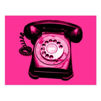 Hotline in Crimson Postcard