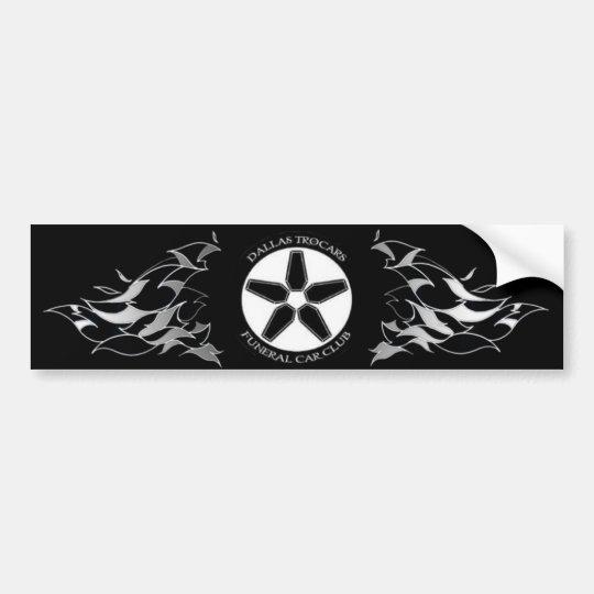 Hotrod Hearses Bumper Sticker