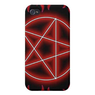 HotRod Pentagram iPhone 4 Cases