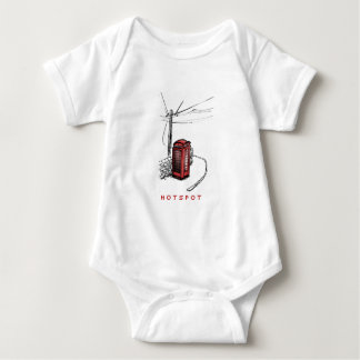 HOTSPOT BABY BODYSUIT