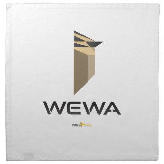 Hotspot Birding WEWA Merchandise Printed Napkins