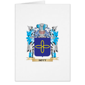 Hott Coat of Arms - Family Crest Card