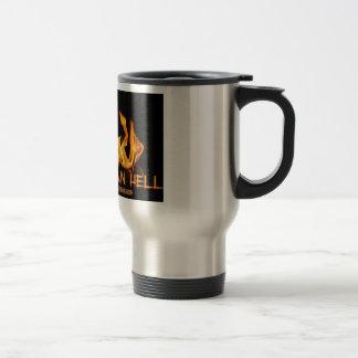 Hotter Than Hell Flames Travel Mug