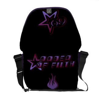 HotterThanHell Order of Filth Messenger Bag