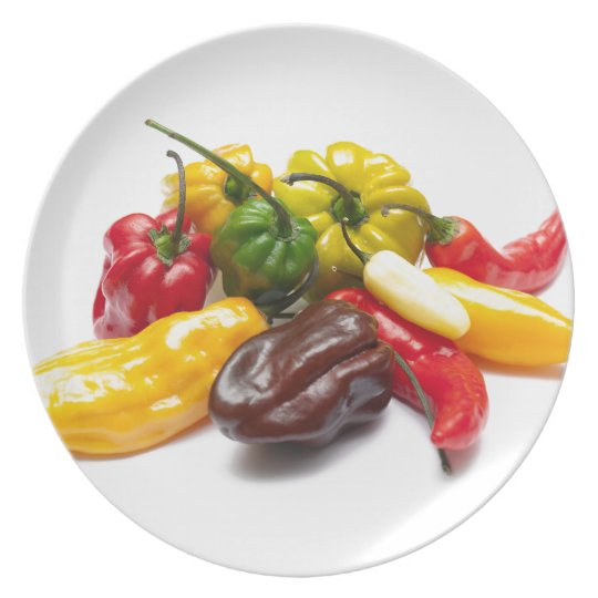Hottest chilies plate