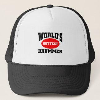 Hottest Drummer Trucker Hat