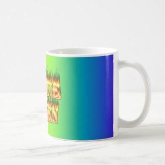 Hottie Helen fire and flames. Coffee Mug