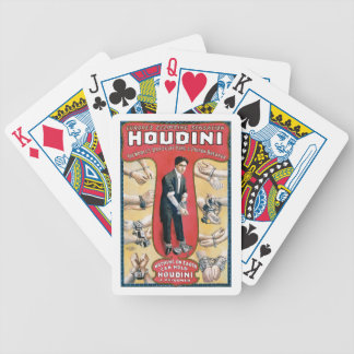 Houdini Handcuff King Bicycle Playing Cards