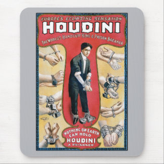 Houdini Handcuff King Mouse Mat