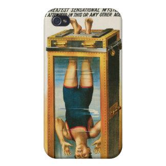 Houdini ~ Illusionist Vintage Magic / Escape Art iPhone 4/4S Cover