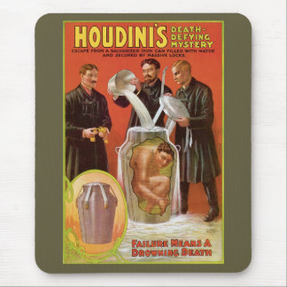 Houdini Milk Can Mouse Mat