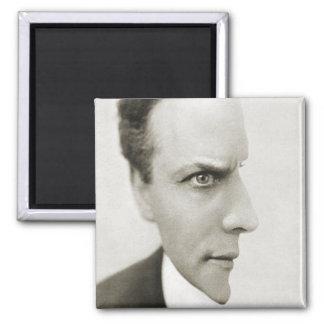 Houdini Optical Illusion Square Magnet