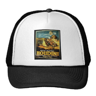 Houdini, 'the Literary Digest' Vintage Theater Cap