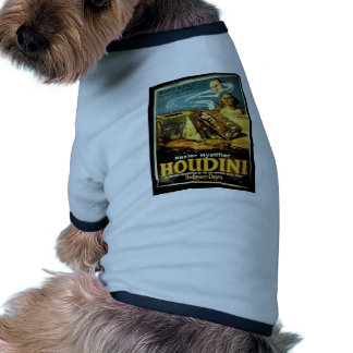 Houdini, 'the Literary Digest' Vintage Theater Dog T-shirt