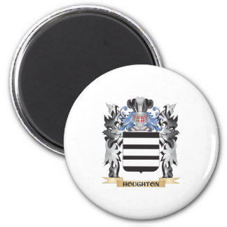 Houghton Coat of Arms - Family Crest 6 Cm Round Magnet