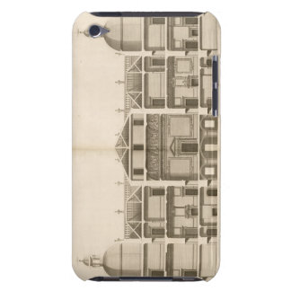 Houghton Hall: section of the West front, engraved iPod Touch Case
