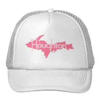 Houghton Michigan Upper Peninsula Trucker Hats