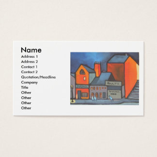 HOULTS STORAGE YARD BUSINESS CARD