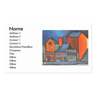 HOULTS STORAGE YARD BUSINESS CARDS