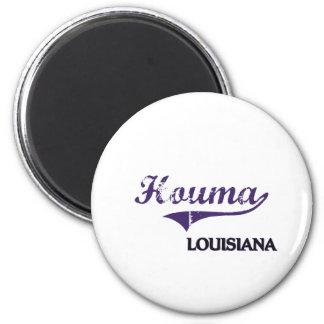 Houma Louisiana City Classic Magnet
