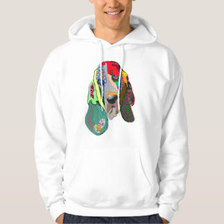 Hound Dog Graphic Art Tee Shirt