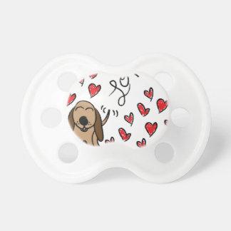 Hound Dog Love Pacifier